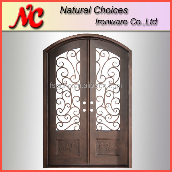 Used Iron Door Grill Designs Interior Wrought Iron Door: Wrought Iron Grill Door Design