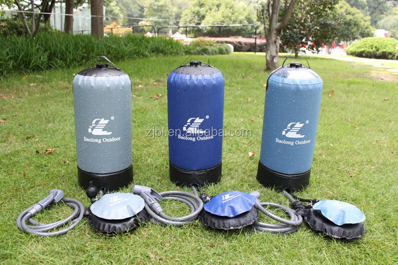 innovative pumpe geregelt solar tragbare camping warmwasser dusche - Outdoor Dusche Warmwasser