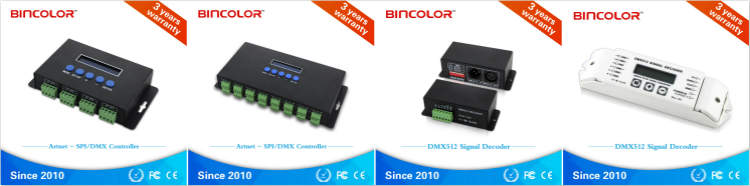 BC-100 49 color changing modes DMX512 controller master controller with RF remote