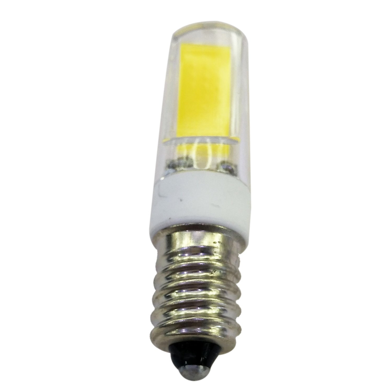 SODIAL(R) 4pcs 3W LED Bulb E14 COB Warm White Ceramic Foot AC220-240V