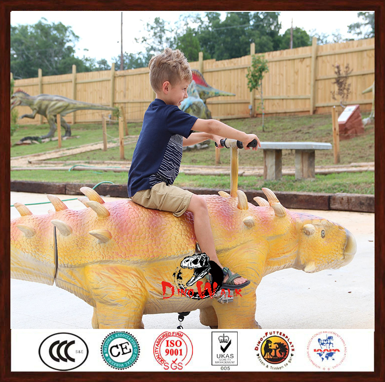 The Best walking dinosaur of ride kid for entertainment In Customized Size