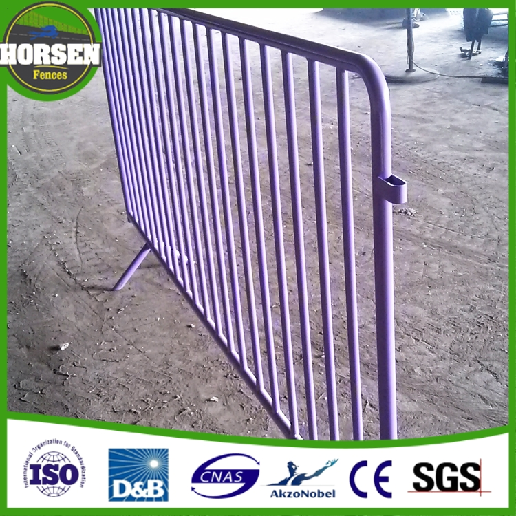 Crowd Control Police Barrier / Temporary Fence / Fencing / Safety / Management