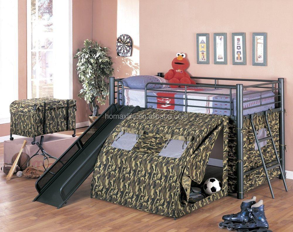 Slaapkamer Meubels Kind : Nieuwe ontwerp mode kids slaapkamer meubels ijzer kind stapelbed