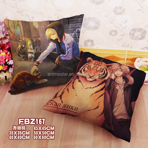 Japanese Hot Cartoon Yuri !!! on Ice Chair Cushion Anime Holding Pillow 40*40CM