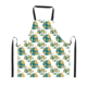Customized cute cartoon rabbit printing kids aprons,alibaba online shopping vintage aprons