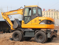 Chinese used mini yan mar excavatoer wheel excavator buckets for sale