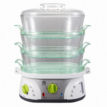 Keep warm large size electric food steamer