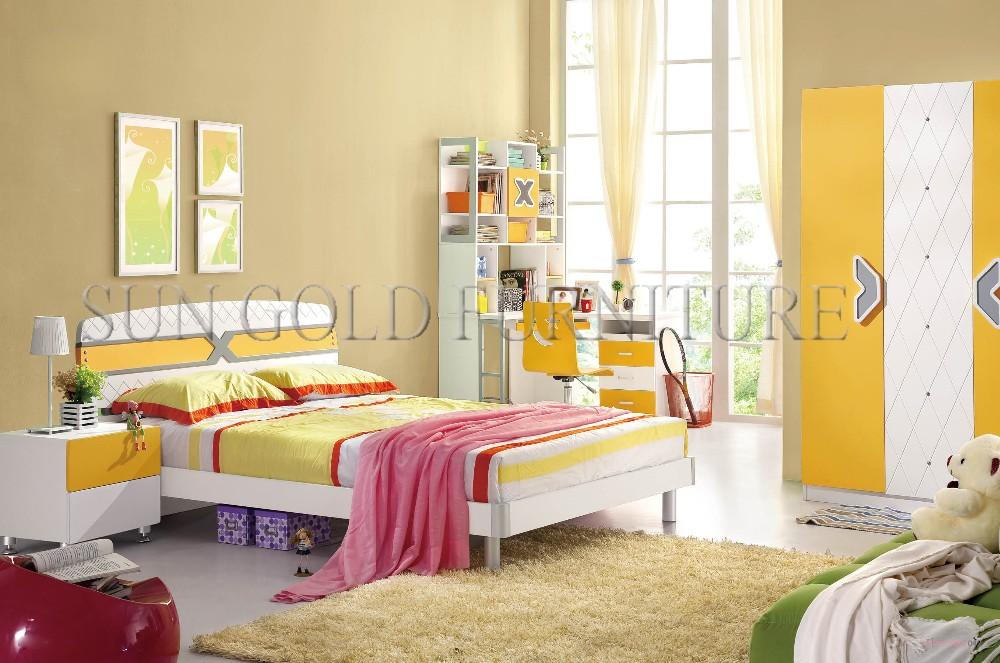 hot sale children room furniture cheap bunk bed bedroom set sz bf803