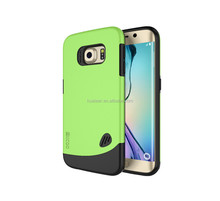 for Samsung S6 Rock Phone Case, TPU PC Hybrid Case for Samsung