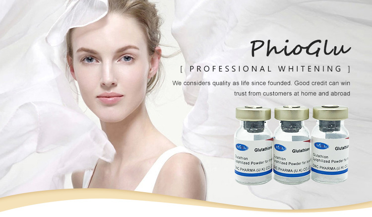 Skin whitening glutathione injection for sale, View glutathione injection,  PHIOGLU Product Details from Hangzhou Yimai Biotech Co , Ltd  on