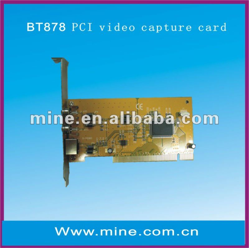 BT878 PCI CAPTURE CARD DRIVER (2019)