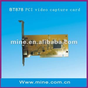 professional 720P capture card with sdk BT878 chip