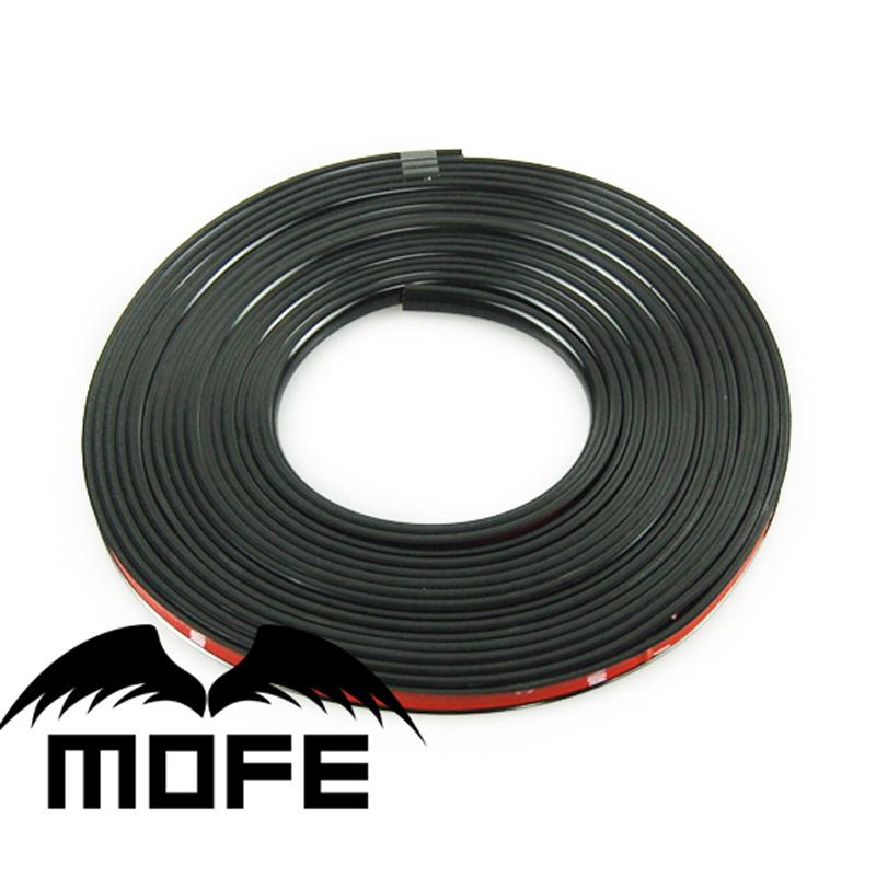 8 м/лот новый универсальный - скреста резиновые черным ободком по уходу за шина протектор с 3 м двухсторонняя лента
