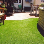 Best selling UV resistance landscape and sport artificial turf with rubber backing