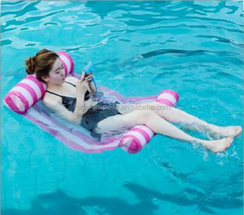 Wasser Hängematte Hängematte Float Tragbare Swimming Pool Lounge  Aufblasbare Wasser Kissen Rl-wh-4025 - Buy Große Aufblasbare  Kissen,Wasserdichte ...
