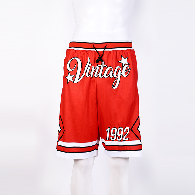 Design Ihre Eigenen Basketball Shorts Mit Zipper Taschen/Custom Sublimation Mens Fashion Lange Basketball Shorts
