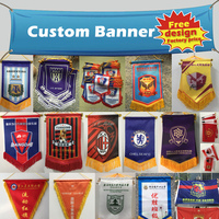 Factory direct sale custom heat transfer printing feather flag banners for advertising