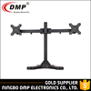 LCD351D-STAND Height Adjustable Vertical 3 Lcd Led Monitor Arms With Laptop Stand