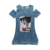 2017 Children Dresses For Girls Denim Dress Summer Strapless Dress Pattern Girls Clothing Short Sleeve Child Clothes