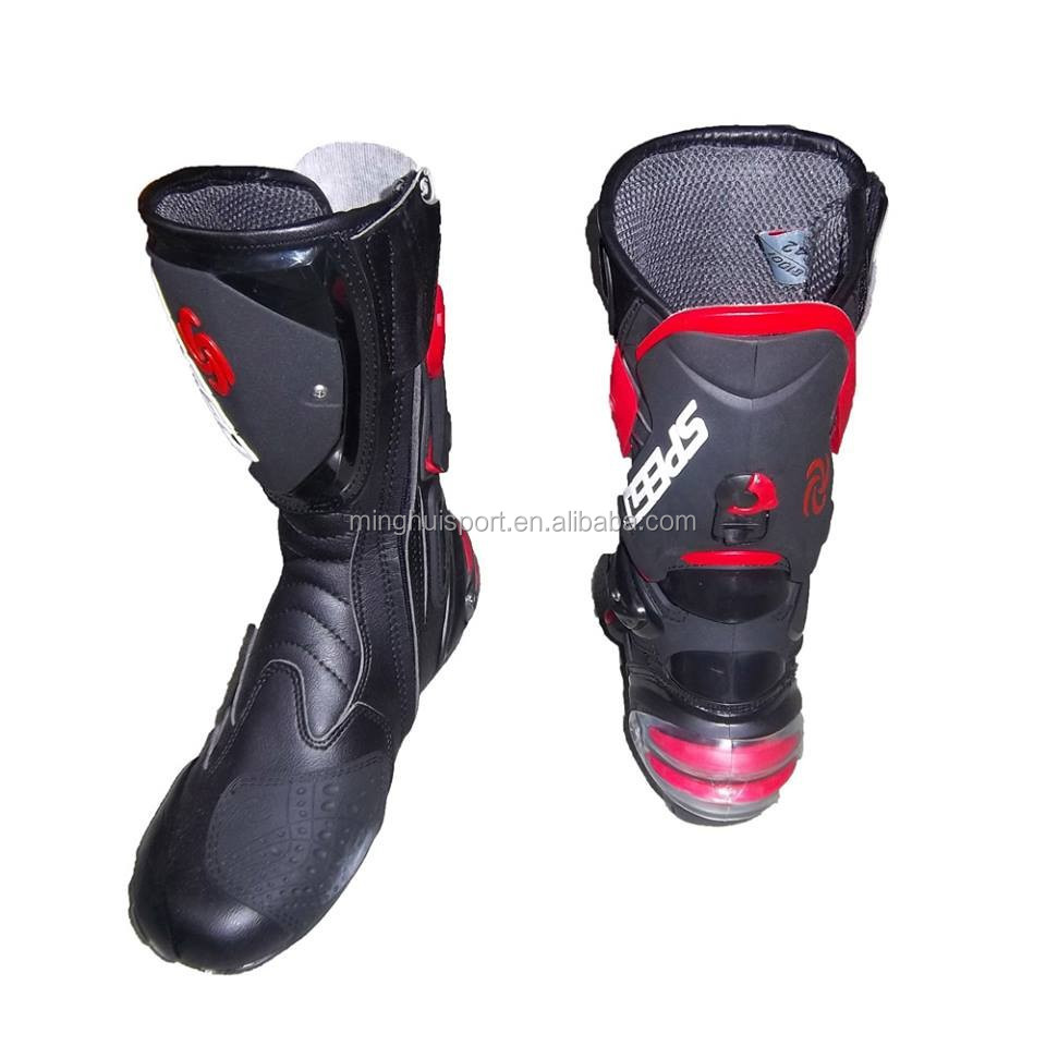 Motocross Heavy automatic Racing Quality Shoes Super boots motorcycle wEdHTvq