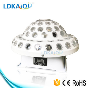 LED Effect RGBWYP*3W Rotating gobo star spot effect light