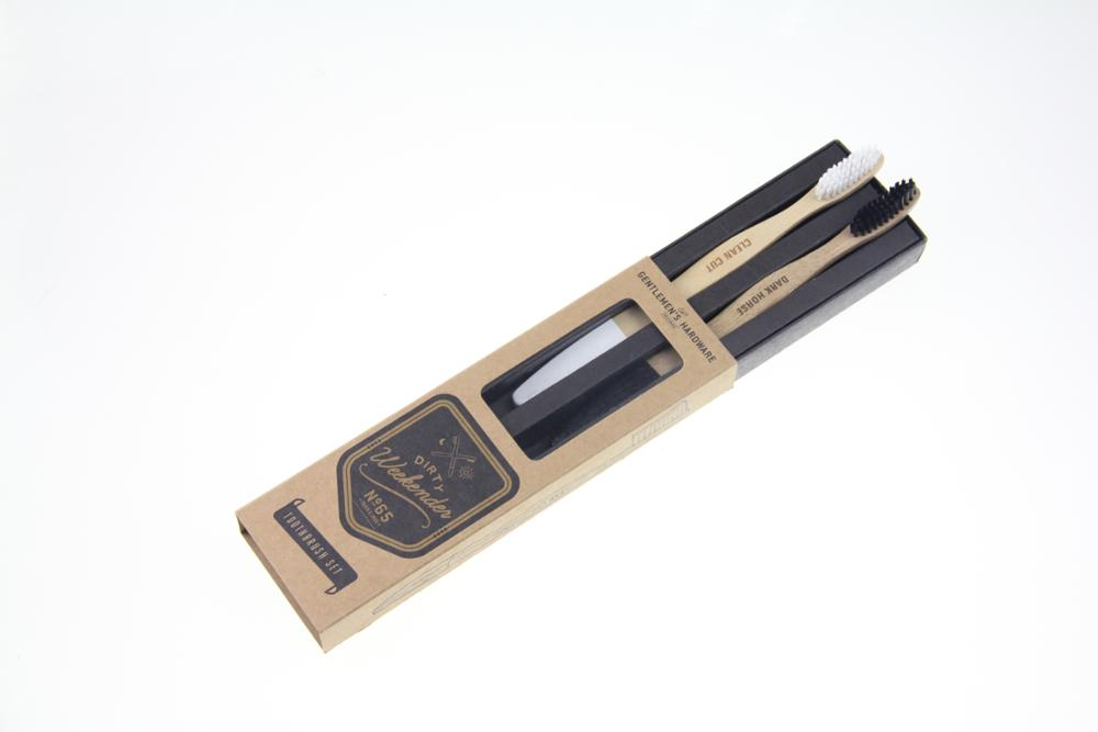 Customized Eco-friendly Biodegradable Nature Bamboo Toothbrush Case