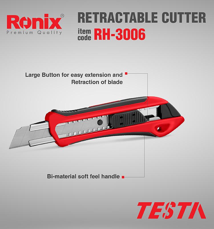 Ronix Messer Cutter Kunststoff Modell RH-3004 RH-3005 RH-3006