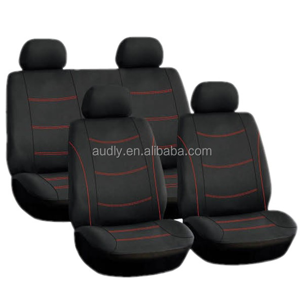 L/C Accepted HY-S16030 Fancy Car Seat Cover with Fancy Design 8 PCS Set