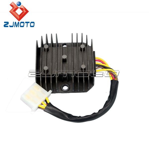 motorcycle parts 6 wires regulator rectifier for el250. Black Bedroom Furniture Sets. Home Design Ideas
