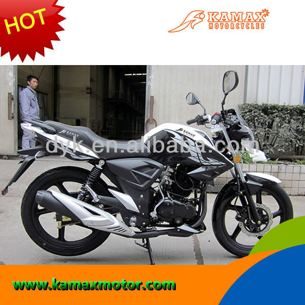 2013 Black/White New Racing Bike Motorcycle KA150-19