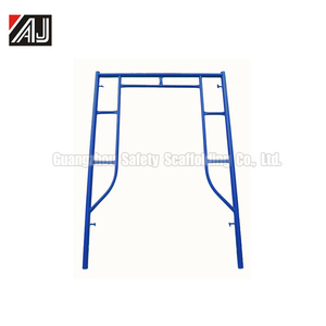 1700 H Frame Scaffolding for Construction,Work With the U Head and Jack Base,Made in Guangzhou China