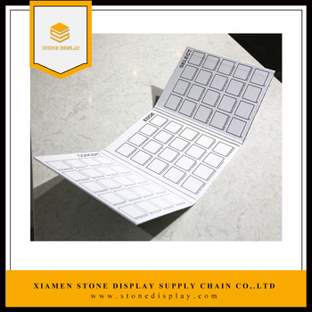 floor tile quartz stone sample catalogue book stone binder buy