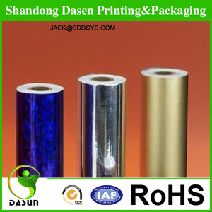 printing wrapping paper roll solid color printed metallic paper