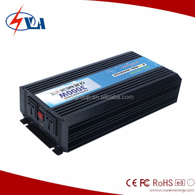 Hot Sale Useful DC to AC Solar Pure Sine Wave Power Inverter 3000w
