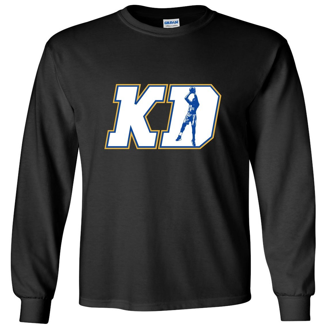 best sneakers d44dd 49976 Get Quotations · LONG SLEEVE Black KD DURANT Golden State