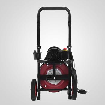 Electric Drain Auger Drain Cleaner Machine