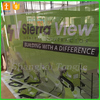 Custom Outdoor Mesh Construction Advertising Banners, Barrier banner