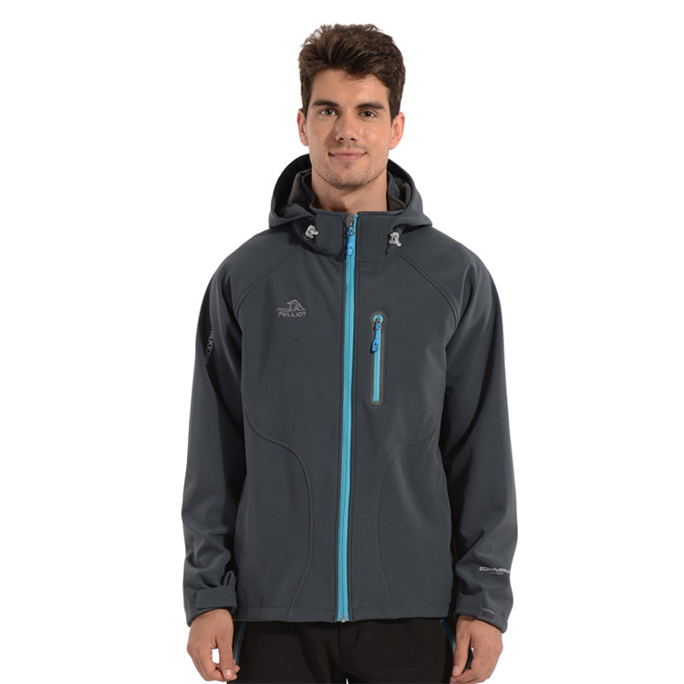 Outdoor Bergbeklimmen Global Ontwerp Professionele Mannen Softshell Jas