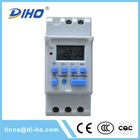 Adjustable Portugal 220v programmable digital timer switch made in China