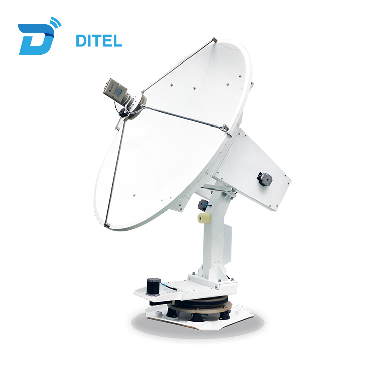 Ditel S120 C band Ku Band 1.2m satellite TV antenna for marine use 47.24inch