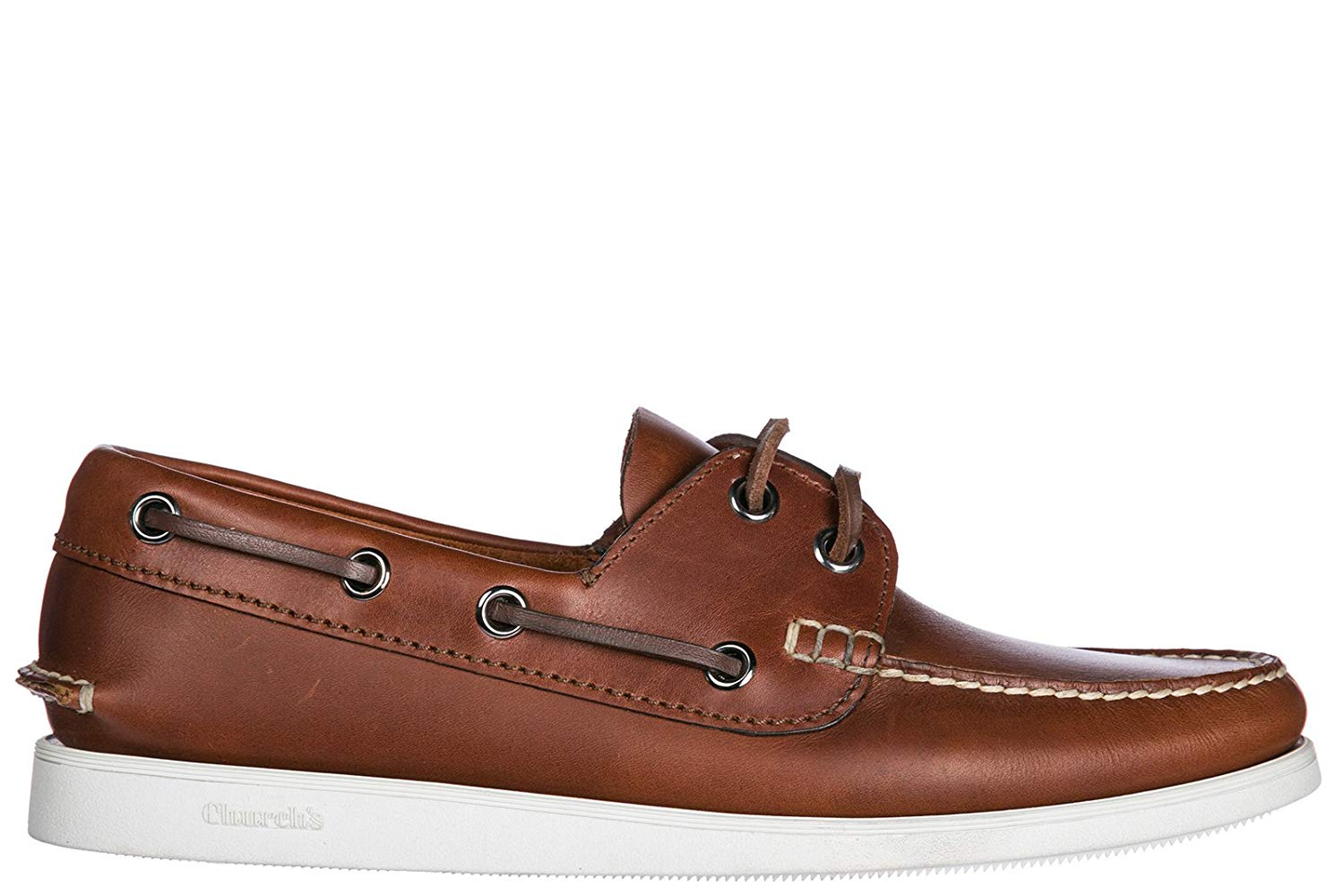 2b672ab1032 Get Quotations · Church s Men s Leather Loafers Moccasins Brown
