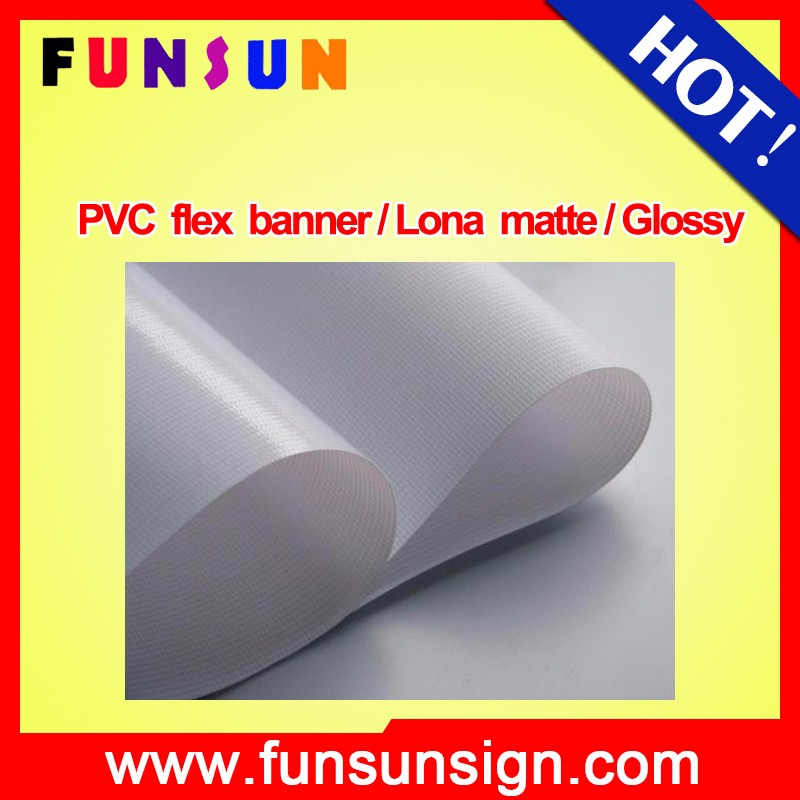 440Gsm Frontlit Pvc Flex Banner high quality and different sizes
