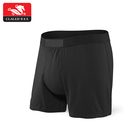 Custom logo waistband fur removal men cotton underwear boxers
