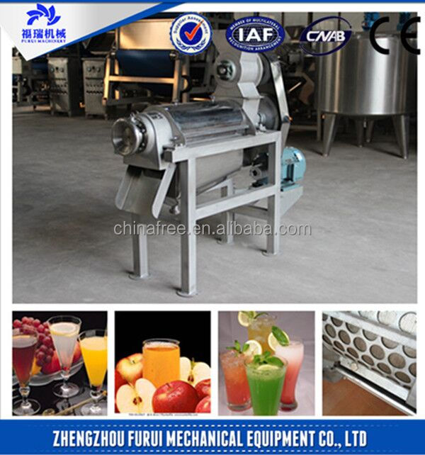 High quality juice press machine/fruit juice press machine with CE certificate