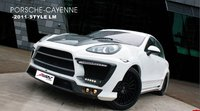 High quality Carbon + PU Body kit for 2011-2012 Prosche Cayenne LA style