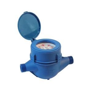 Iso 9001 plastic low price water meter