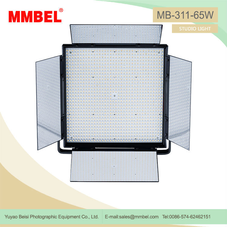 White LED video light bar studio light