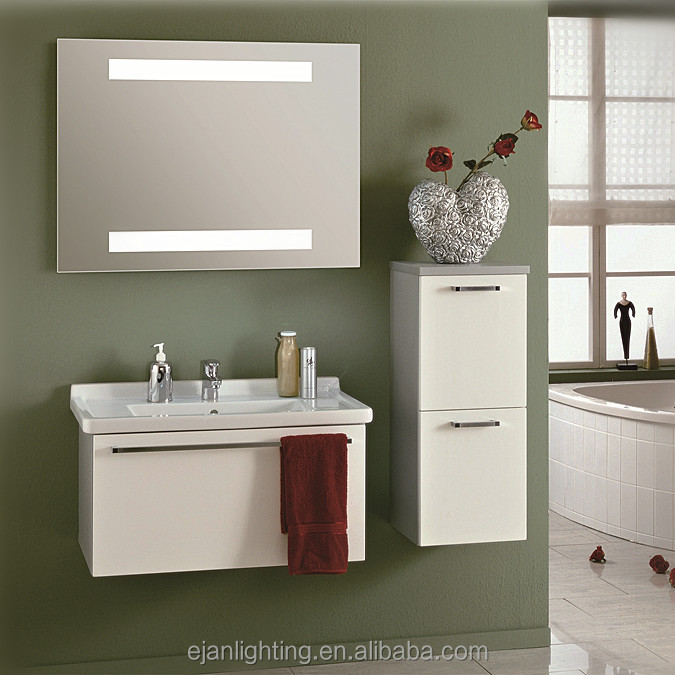 Fogless and Frameless Full Length LED Vanity Wall Mounted Dressing Mirror with Lights
