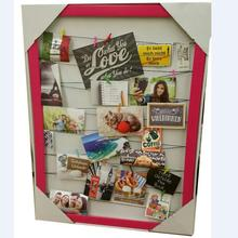Hanging cardboard Picture Frame Photo Display