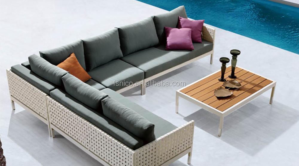Todo el tiempo de mimbre sof sofa de exterior sof s de for Sofa columpio exterior